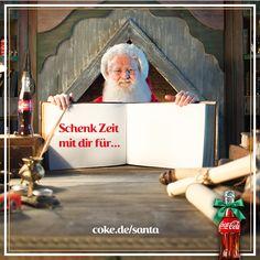 Ob für eine gemeinsame Bastelstunde oder den Weihnachtsmarkt-Besuch: Jede geschenkte Stunde wird von Santa eingetragen! :-) Macht mit und sorgt für jede Menge #Weihnachtsfreude