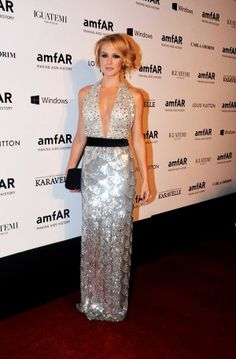 Os looks do amfAR: Fiorella Mattheis