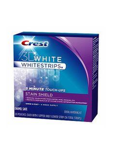 Teeth Whitening Tips: use whitening strips