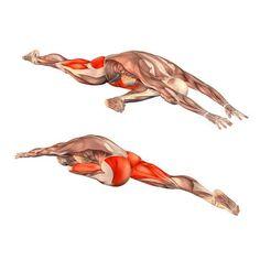Pigeon pose, head down on left foot - Adho Mukha Kapotasana left - Yoga Poses | YOGA.com: