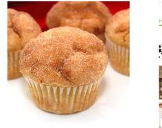 Cinnamon Sugar Doughnut Muffins  #tipit #Food #Drink #Trusper #Tip