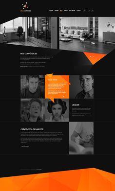 Web | HF Concept by Thomas Le Corre, via Behance | #webdesign #it #web #design #layout #userinterface #website #webdesign < repinned by www.BlickeDeeler.de | Take a look at www.WebsiteDesign...