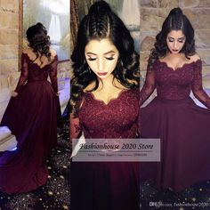 I found some amazing stuff, open it to learn more! Don't wait:https://m.dhgate.com/product/burgundy-lace-long-sleeve-formal-evening/394986457.html