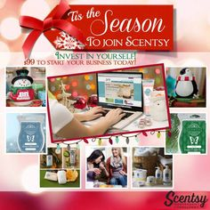 Invest in yourself for only $99 to start your business today.  To join, please go to www.lillyscents.scentsy.us and click ---> Join