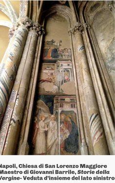1333-1334. Chiesa di San Lorenzo Maggiore a Napoli