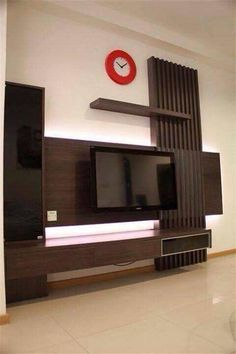 90 Wall Mount Tv Ideas for Small Living Room Tv Wall Mount Style Ideas to Bine with Your attractive Small Living Rooms, Lcd Panel Design, Apartment Design, Small Space Interior Design, Tv Wall Design, Wall Unit Designs, Living Room Tv Unit Designs, Wall Tv Unit Design, Living Room Tv Wall