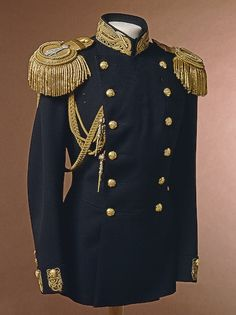 My outfit is an old uniform used by the navies of the world a long time ago. My stylist says that I have that old sailor look about me and this outfit will show off that side of me.