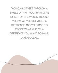 What you do makes a difference. You have to decide what type of difference you want to make. Make A Difference, What Type, Singles Day, Different, Earth, Words, How To Make, Instagram, Making A Difference