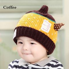 Lovely Teletubbies knit beanies for toddlers wings plush lined winter hat