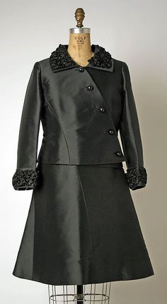 Pierre Balmain, Suit, early 1960s, The Metropolitan Museum of Art, New York