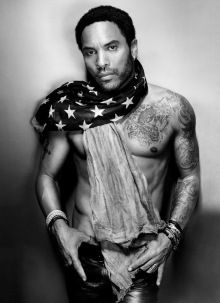 Lenny Kravitz, closing night performer for Sunday Dec,9. Culmination for the week-long celebration of the 11th Annual Art Basel Miami Beach. - BLACK ART IN AMERICA
