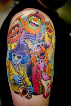 Dr. Teeth and The Electric Mayhem tattoo