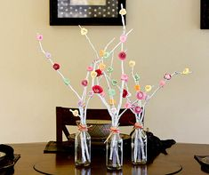 Cute and Easy Valentines Day Centerpiece