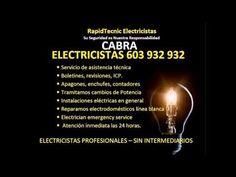Electricistas CABRA 603 932 932 Baratos