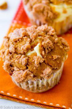 Pumpkin muffins fill