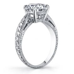 Renaissance Platinum by Philip Press | Designer Engagement Rings and Wedding Bands | Diamonds Direct | Charlotte, Birmingham, and Raleigh