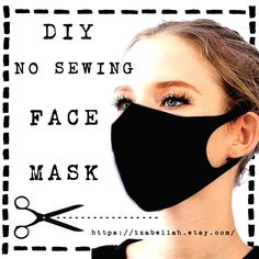 DIY Face Mask Ties - The Easiest and Most Comfy Face Mask Straps - How to make ties for face masks using knit fabric from t-shirts or leggings. These stretchy face mask straps are the most comfy way to wear DIY face masks. Easy Face Masks, Diy Face Mask, Nose Mask, Homemade Face Masks, Dust Allergy, Maskcara Beauty, Flannel Material, Mask Template, Diy Mask