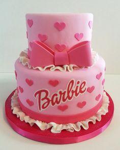 Barbie cake decoration by HelloCakesByVanessa on Etsy