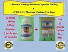 Moringa Oleifera Organic Leaf Powder Capsule and TEA Dietary supplement