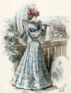 Victorian Fashion - 1893 to 1896