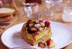 Voici une recette de pain doré parfaite pour le déjeuner ou pour un brunch, avec de la tartinade au chocolat et noisettes! Essayez-le!