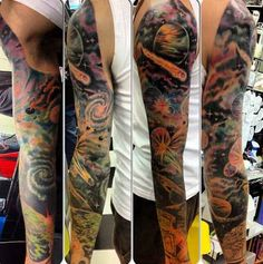 This galaxy sleeve is out of this world.