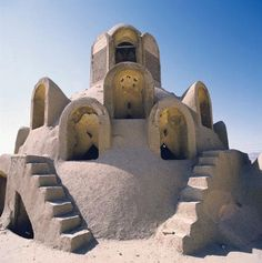 Wind Tower (A cooling tower – ancient air-conditioner) Borujerdi House, Kashan, Iran  The Borujerdi House is a famous landmark and sample of Persian traditional residential architecture.