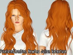 Sinuos hairstyle NewSea`s Julian retextured by Pixelated Zombies for Sims 3 - Sims Hairs - http://simshairs.com/sinuos-hairstyle-newseas-julian-retextured-by-pixelated-zombies/
