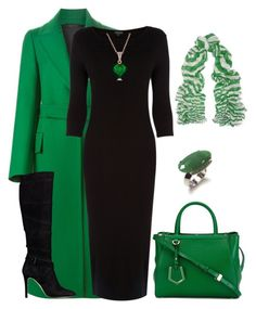 """outfit 2617"" by natalyag ❤ liked on Polyvore featuring moda, Jil Sander, Warehouse, GUESS, Fendi, Carla Amorim ve Jimmy Choo"
