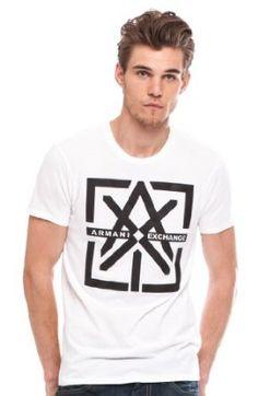 Armani Exchange Bar Logo T-shirt