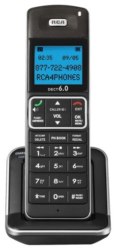 RCA-2110-0BSGA DECT 6.0 Cordless Handset for the 2111 and 2112 Phone Systems #RCA