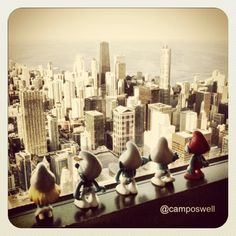 Smurfs - by Instagram @camposwell