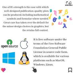 Quick Introduction Of R  By : www.infinitycodex.in  #python3 #python #rm #robotics #rprogramming #datavisualization #dataanalyst #data #datasciences #machinelearningmaster #machinelearning #deeplearning #window #linux #macos #opensource #stats #statistics #mathmemes #mathematics #mathproblems #graphicdesign #knowledge #programming #skills #bigdata What Is Data Science, Math Memes, Math Problems, Deep Learning, Data Analytics, Big Data, Data Visualization, Robotics