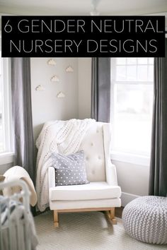 6 gender neutral nurseries- inspiration for baby