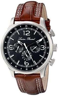"Lucien Piccard Men's LP-13013-01-BRW ""Avalon"" Stainless Steel Watch with Brown Leather Strap Lucien Piccard http://www.amazon.com/dp/B00MEZ35S8/ref=cm_sw_r_pi_dp_4lMEub0REVWDD"