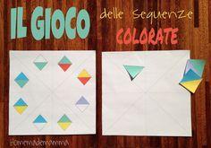 Alla scuola materna di PF i giochi di sequenza erano molto usati e venivano proposti in tantissime varianti: usando mattoncini colorati, corde, LEGO, foto, immagini, oggetti... Questi giochi hanno ...