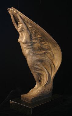 Bronze Figurative sculpture by sculptor Steven Whyte, Carmel, California. Www.facebook.com/stevenwhytecarmel