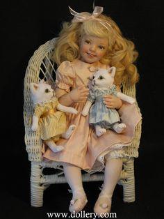 Jane Bradbury Collectible Dolls Kitty Kitty