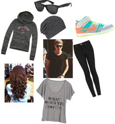 """""""Running from paps with Niall"""" by reynoldstasha ❤ liked on Polyvore"""