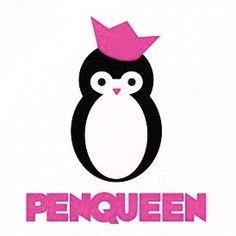 Penqueen Penguin Logo