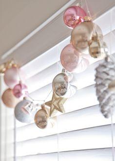 cute ornament garland