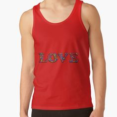 Shop von Herogoal | Redbubble She's The Man, A Team, Athletic Tank Tops, Tank Man, Solid Colors, Slim, Range, Mens Tops, How To Wear