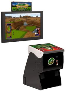 2016 Golden Tee Golf Home Arcade Game Without Monitor Stand