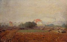 Effet de brouillard (C Monet - W 249),1872.