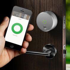 August Smart Lock App-Controlled Keyless Deadbolt