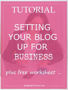 Set Your Blog Up For Business