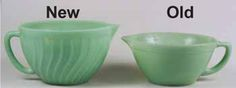 How to tell new from old Jadeite - good to know if buying online