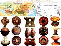 Marea migraţie: Cucuteni-Tripolie, Yangshao, Ban-Chiang, Jomon, Valdivia, Anasazi-Mogollon Altar