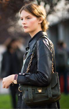 lovely in leather- Sara Blomqvist