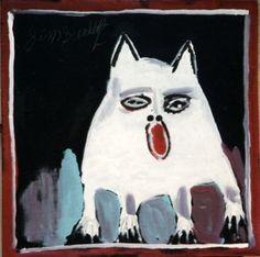 Mose Tolliver Collage Illustration, Primitive Folk Art, Prison Art, American Folk Art, Cat Art, Naive Art, Creature Art, Art, Outsider Art